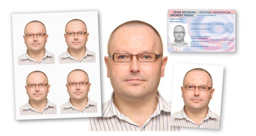 průkazové fotografie přehled KasalFOTO Český Krumlov