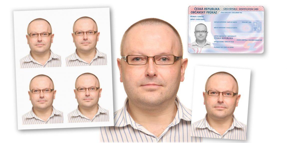 průkazové fotografie KasalFOTO Cěský Krumlov
