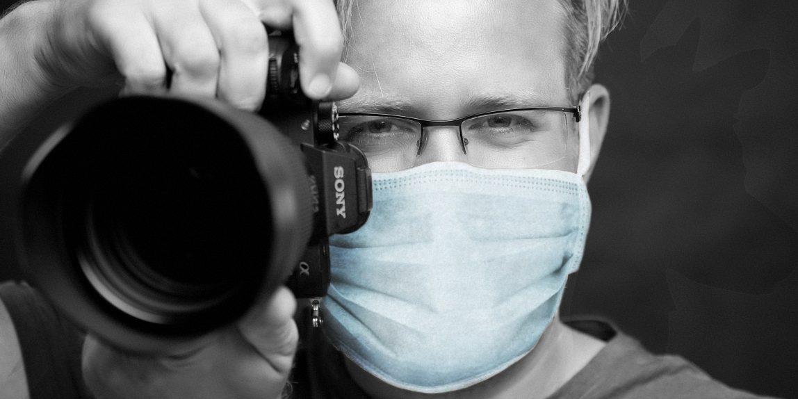 fotograf a karanténa KasalFOTO Český Krumlov COVID-19 koronavir rouška