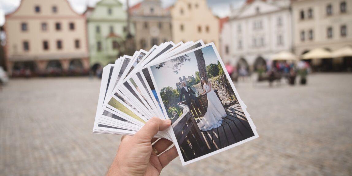 fotografie český krumlov náměstí - svatební foto